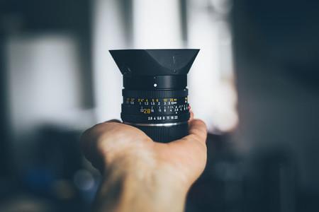 vintage leica lens
