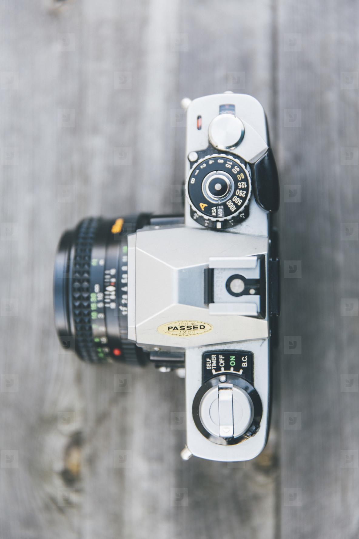 analog photo camera