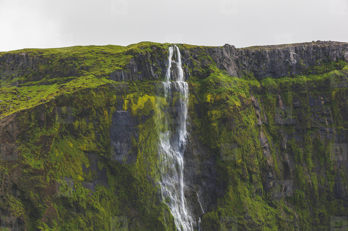 Waterfall  Suourland  Iceland