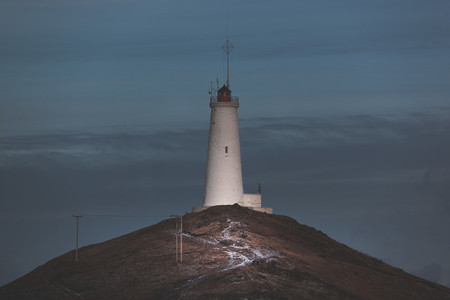 Lighthouse Reykjanes Peninsula