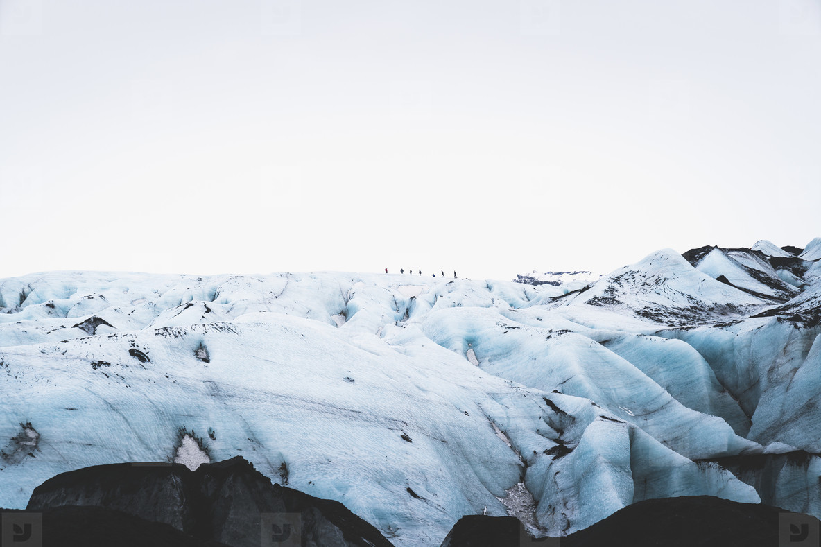 Solheimajokull  South Iceland