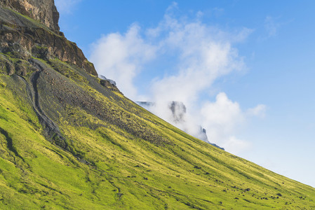 Green mountian  Iceland