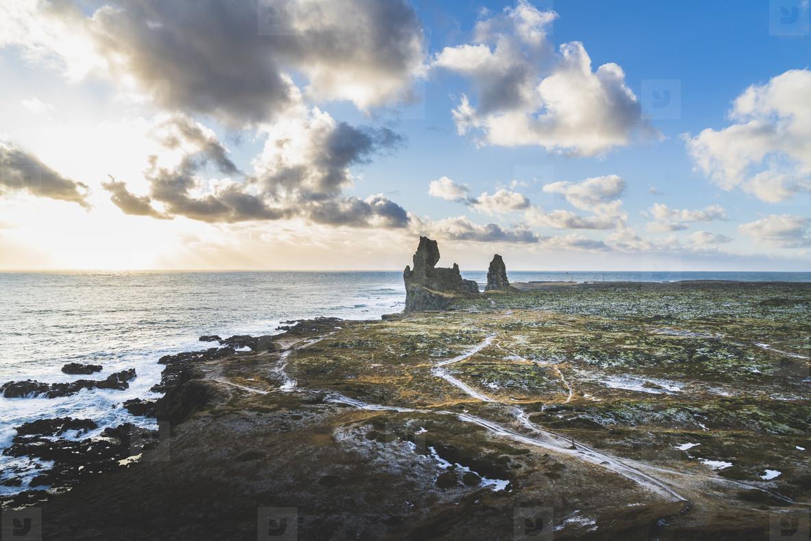 Londrangar Cliffs  Iceland