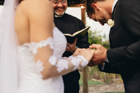 Traditional wedding ceremony rituals