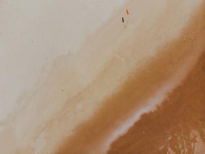 Aerial Beach View  Flag