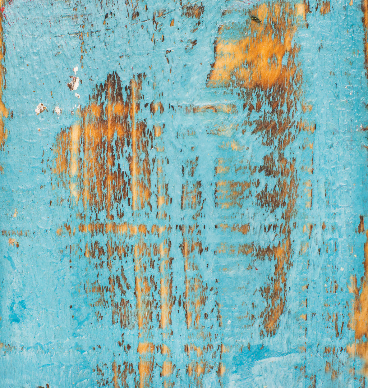 Blue painted old rustic shabby wood texture