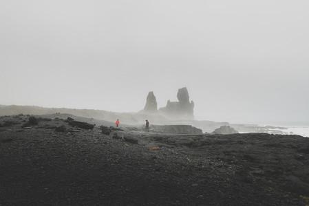 Londrangar view  Iceland
