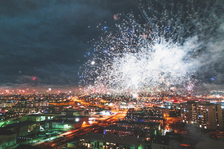 Fireworks  Reykjavik