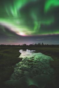 Aurora borealis Heidmork