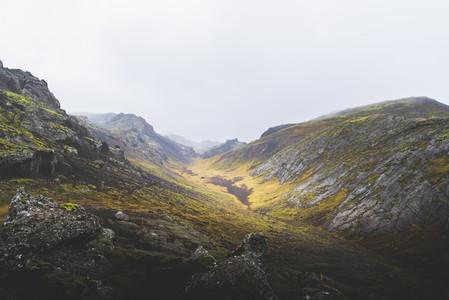 Volcanic landscape Nesjavellir