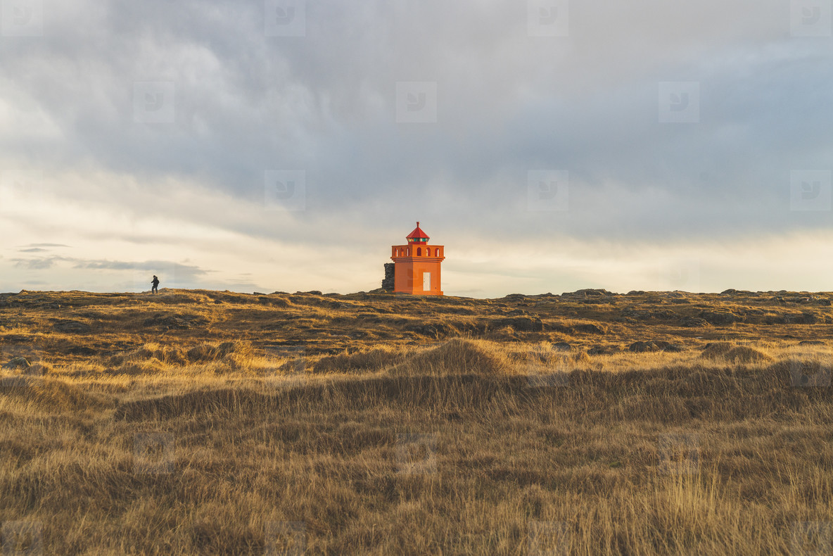 Lighthouse  Hafnarnes