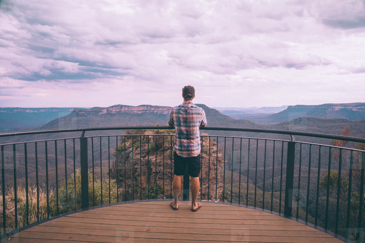 Blue Mountain view point