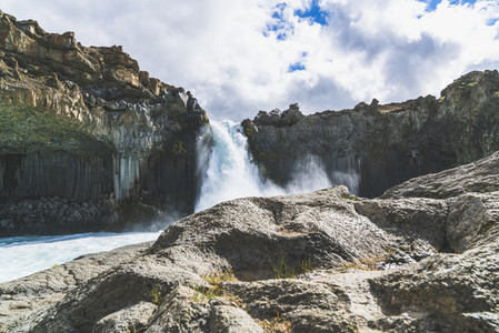 Aldeyjarfoss Waterfall 03