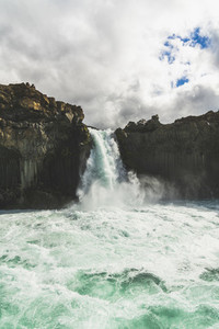 Aldeyjarfoss Waterfall 04