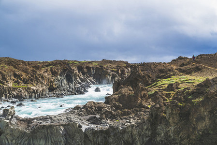 Aldeyjarfoss Waterfall 06