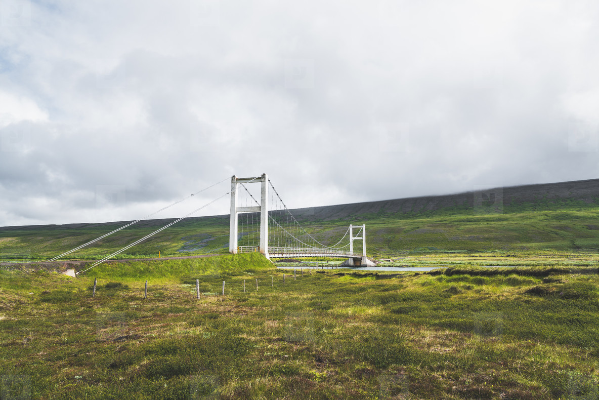 Bridge  North Iceland