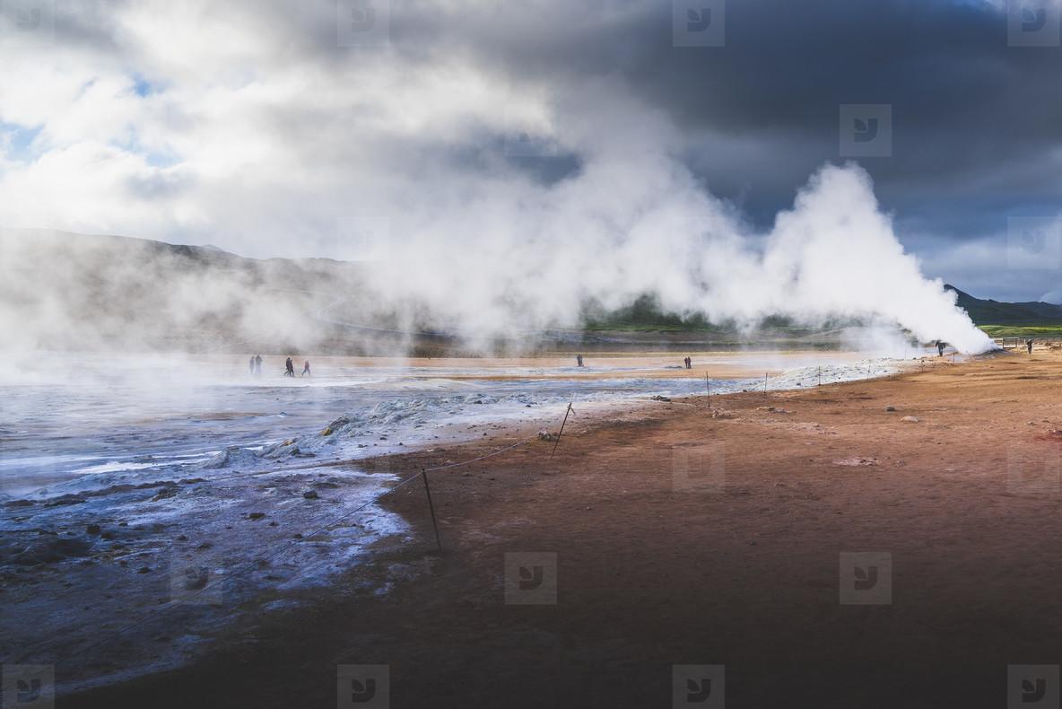 Hverir  North Iceland
