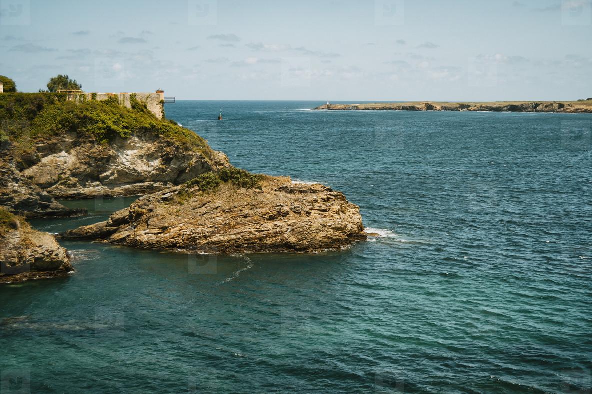 maritime landscape of the ocean