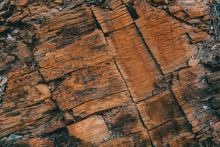 Smooth brown stone texture