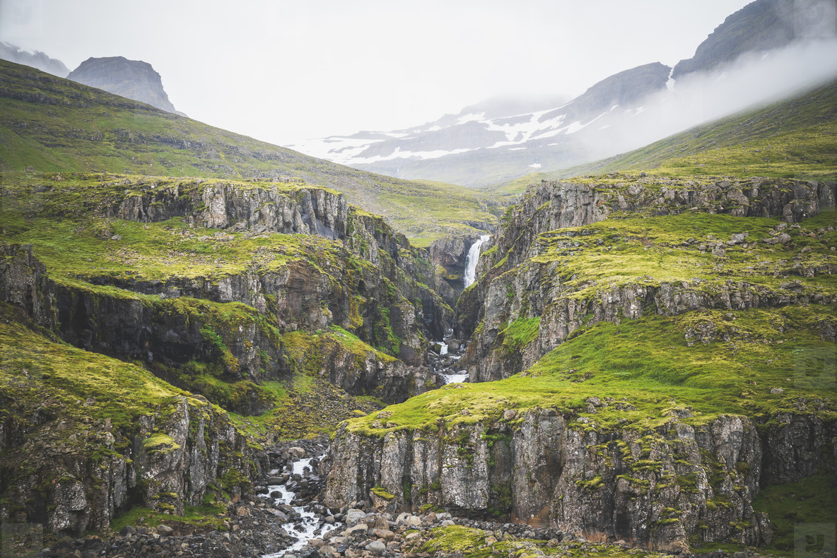 Waterfall  Austurland