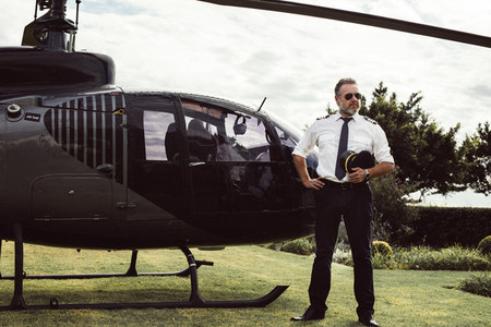 Private helicopter pilot