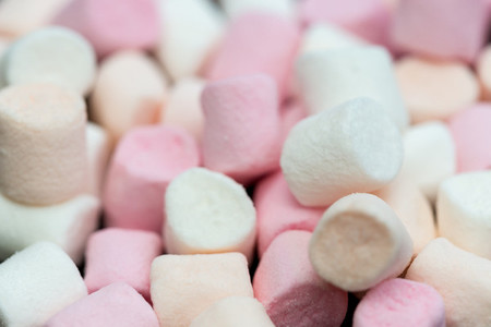 Marshmallow candy sweets food background