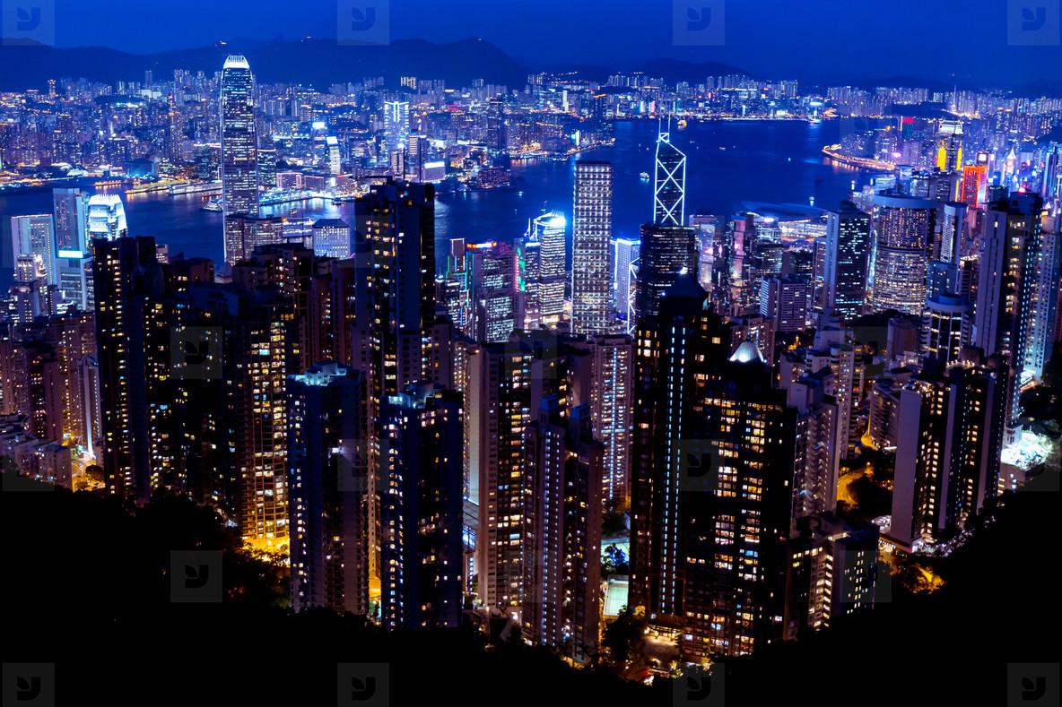 Hong Kong Skyline Wallpapers Sinaga