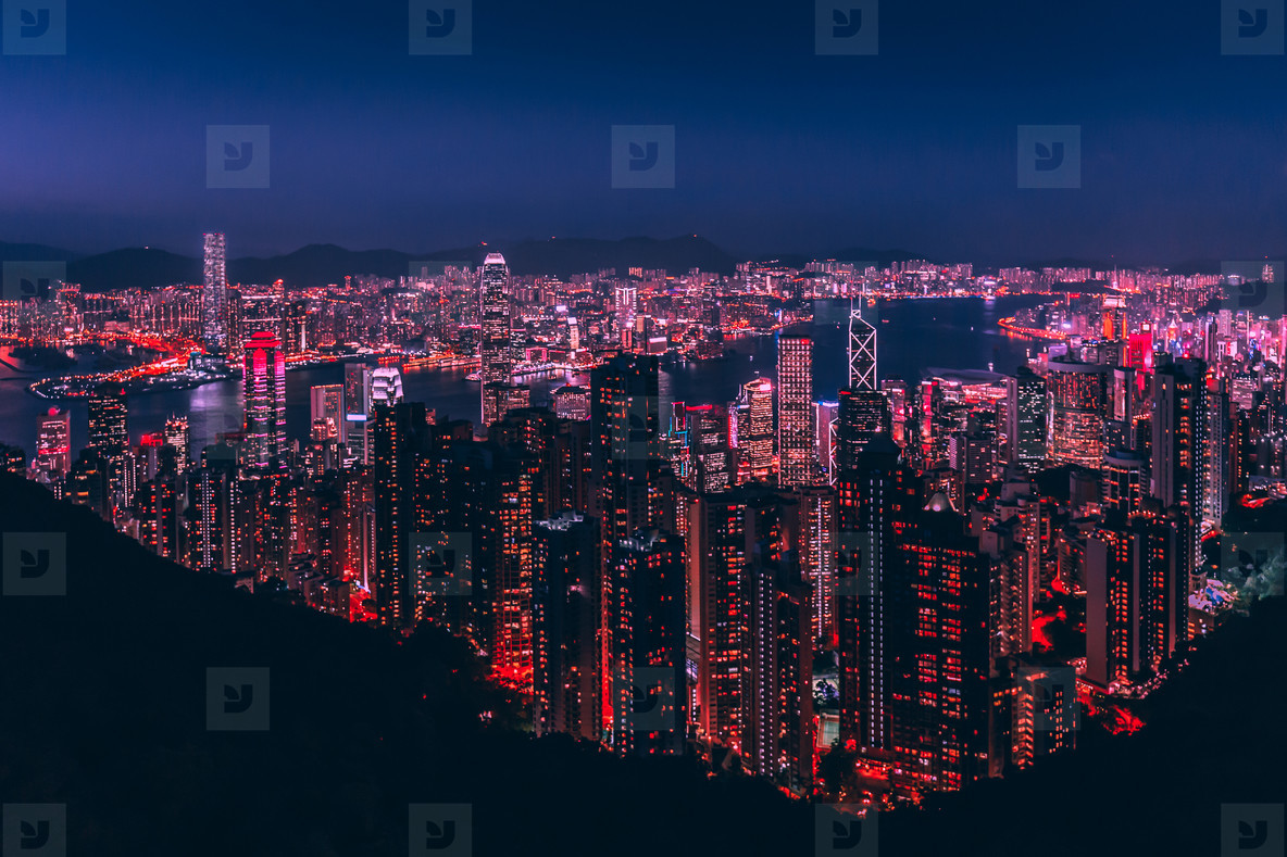 Photos hong kong skyline at night from victoria peak youworkforthem hong kong skyline at night from victoria peak size format altavistaventures Choice Image