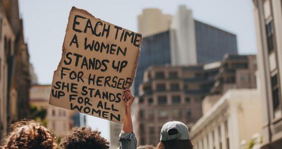 Demonstration for women power