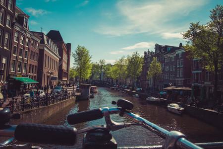 canal and bike