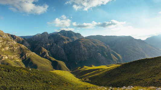 Beautiful Jonkershoek nature reserve