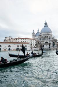 Gondolas in Venezia  Italia