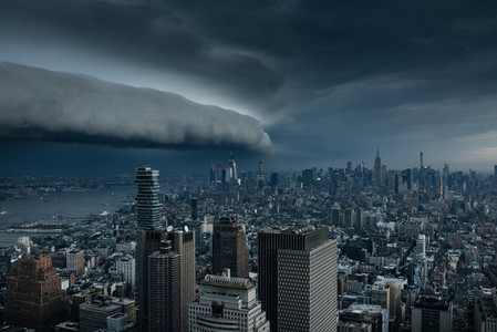 Storm rolling over New York