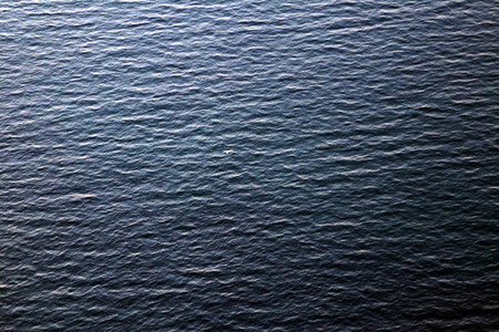 Sea surface with waves pattern