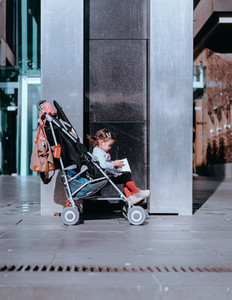 Baby Stroller in the City