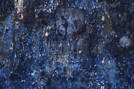 Old blue wall texture