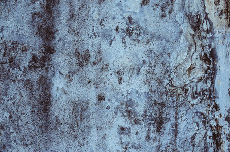 Blue old wall texture