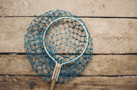 Fishing landing net