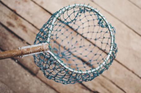 Fishing landing net