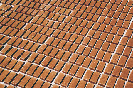 Red bricks pattern
