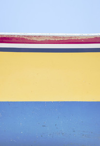 Colorful wooden boat background