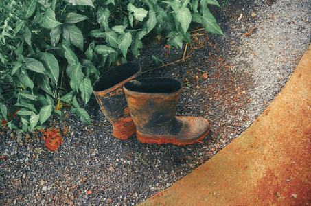 Dirty Gardening Rubber Boots
