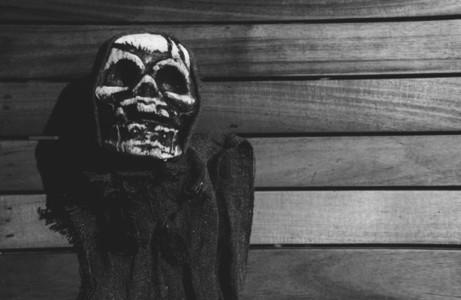 Scary Halloween Skeleton