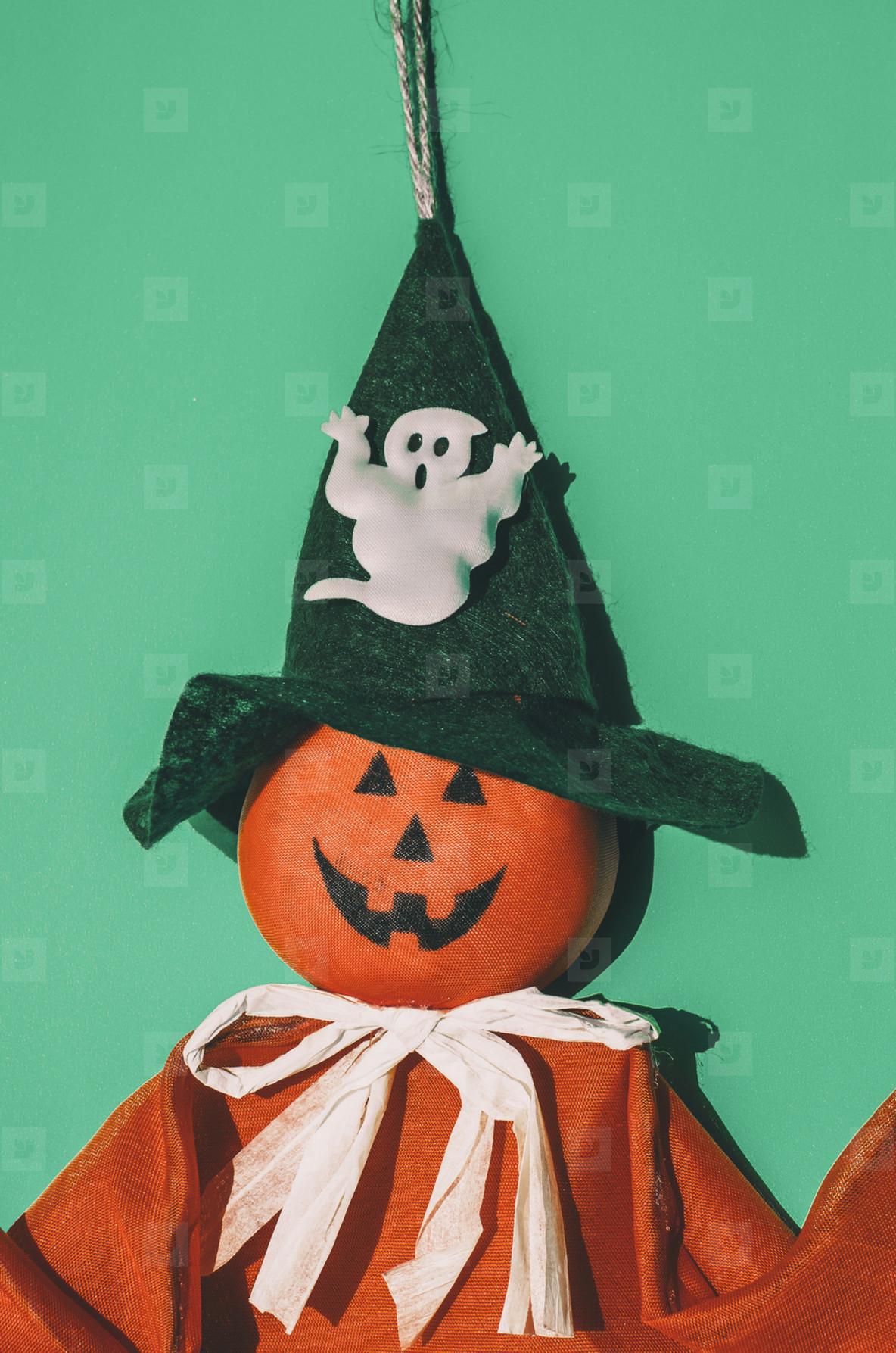 Orange Halloween Pumpkin Toy