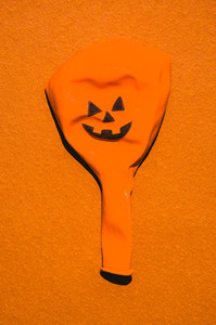 Empty Halloween Balloon
