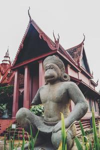 Hanuman The Monkey God