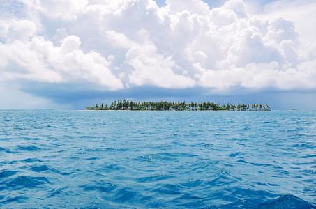 Postcard Tropical Getaway Island