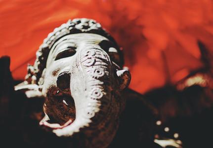 Holy Hindu Elephant Ganesha