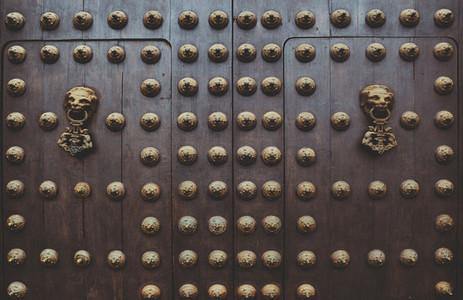 Gothic Wooden Doors