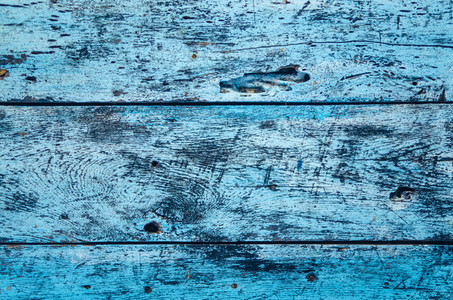 Old Wooden BlueTable Background